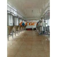 China 5000L Large Scale Beer Brewing Equipment Vertical Type Polished Surface wholesale