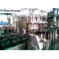China Soft Carbonated Drink Filling Machine Automatic Glass Bottle Rotary Type wholesale