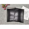 China Metallic Foil Black Bubble Wrap Shipping Envelopes Waterproof Custom Logo wholesale