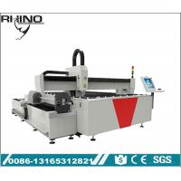 China Dual - Use Fiber Laser Cutting Machine With Rotary Attachment CE / ISO / FDA Approved on sale