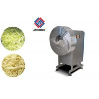 Quality 500 KG/H Garlic Processing Machine Ginger Slicing Strips Cutting for sale
