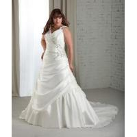 China Spaghetti Strap Plus Size Bridal Gown wholesale