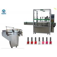 China Small Dose Automatic Nail Polish Filling Equipment 2 Nozzles With Turn Table wholesale