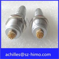 IP68 lemo connector 2 3 4 5 6 7 8 9 10 12 pin circular metal connector with cable wiring harness Manufactures