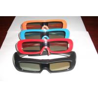 China Comfortable Universal Active Shutter 3D TV Glasses USB Chargeable Battery wholesale
