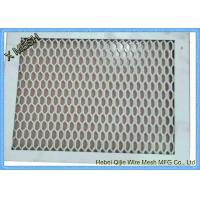Quality Aluminum Expanded Metal Grating For Decoration Material SGS Approved for sale