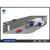 Buy cheap X Ray Vehicle Scanning System Double Viewing Angle For Small Cars / SUV from wholesalers