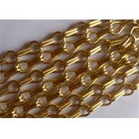 China Decorative Hanging Aluminum Wire Chain Link Curtain for Doors ,Fly Window Screen wholesale