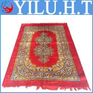 China nepali red patchwork carpets underlay dresses wholesale