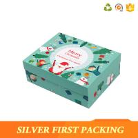 China Silver First Custom printing made small cardboard paper box with lids wholesale
