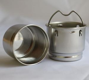 China Stainless Steel Mesh Tea Strainer Perforated|Tea Infuser Metal Cup Strainer|Loose Tea Leaf Filter Sieve wholesale