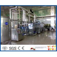 China High Automatic Dairy Plant Project Milk Processing Equipments With SUS304 Stainless Steel wholesale