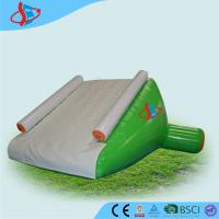 China White Large Inflatable Water Slides For Swimming Pool 0.9mm PVC on sale