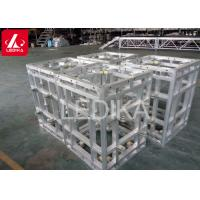 Buy cheap Slick Folding Aluminum Roof Truss Articulated Square Truss Foldable DJ Truss from wholesalers