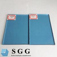 China Light Blue tinted float glass 4mm 5mm 5.5mm 6mm 8mm 10mm 12mm wholesale