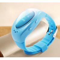 Mini GSM Wrist Watch GPS Tracker For Children , Support Android IOS APP Manufactures