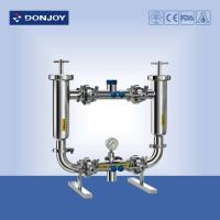 China Sanitary Food Grade Beverage Pipeline Filter , SS304 Duplex Water Filter wholesale