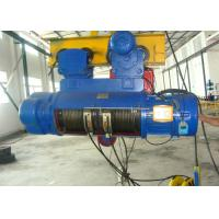 China 5000KG Crane Electric Wire Rope Hoist CD1 With 1 To 25T Capacity wholesale