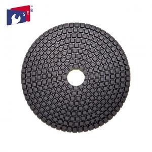China 5'' Dry Polishing Pad Diamond Powder 80 - 220 Mm For Concrete Quartz wholesale