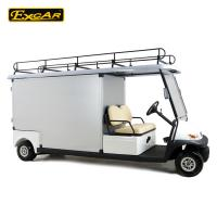 Buy cheap 2 Person Al Rear Cargo Box Utility Golf Carts With 1 Year Warranty Time from wholesalers