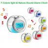 China Colorful Light & Nature Sound Alarm Clock wholesale