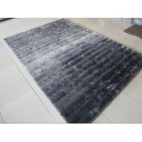China Soft Shade Color Line Design 3D Polyester Shaggy Rug(3229) wholesale