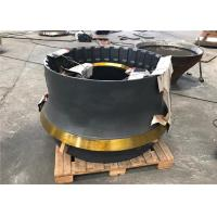 China Mn18cr2 Material Cone Crusher Components With Sand Casting And Machining Process wholesale