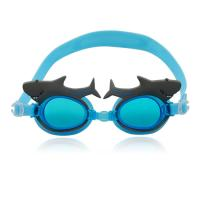 China 2014 advanced cartoon swimming goggles for kids wholesale