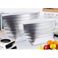 China 40*50cm Flat Mouth Thermal Delivery Packaging Aluminium Foil Insulation Bag wholesale