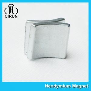 China Sintered Neodymium Arc Magnets , Generator Neodymium Magnet High Flux on sale