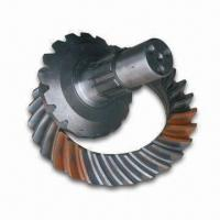 China Truck Parts/Pinion and Crown Wheel, Made of Steel, with 38/9 Gear Ratio wholesale