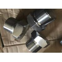 """China ASME B16.11 1/4""""-4"""" stainless steel ASTM A182 F316L hex square round head plug wholesale"""