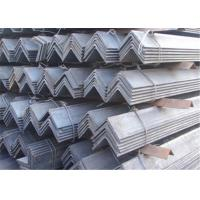 China Hot Rolled Stainless Steel Angle Iron ASTM , AISI 201 , 202 , 301 , Thickness 3mm - 24mm wholesale