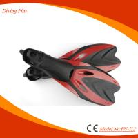 China Full Foot Flipper Shoes For Swimming Snorkeling Diving 6 Sizes Optional on sale