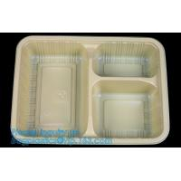 China Compartments food grade blister plastic frozen and microwave dumpling tray,Packing Tray Disposable Food Plastic Package wholesale