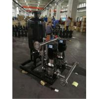 China Frequency Control Water Supply Equipment Full Automatic Constant Pressure wholesale