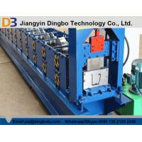 Buy cheap PLC Control Rain Gutter Making Machine With Embossing 5.5KW 12MPa Working Pressure from wholesalers