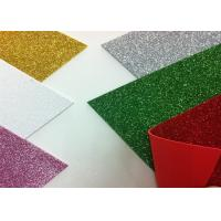 China Solid Color Adhesive Glitter EVA Foam Sheet High Density For Handcraft And Decoration wholesale