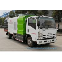 China JAPAN ISUZU Vacuum Suction Dust Truck 700P 190hp Road Cleaning Vehicle 7000L Dry And Wet Street Sweeper Truck wholesale