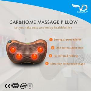 China 2017Hot Sell Smart Electric Shiatsu Neck Car Massage Pillow With Manufacturer& Battery Operated Vibrating wholesale