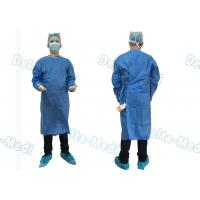 China Barrier Disposable Surgical Gown , SMS Surgery Gown Alcohol Resistant With Towels wholesale