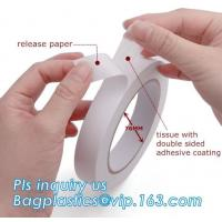 China Industrial Strong Scotch Tape Label Double Sided With Carrier Tissue Or Foam wholesale