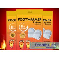 China Air Activated Foot Warm Heated Pad Insole Toe Warmer Patch for Winter wholesale