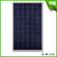 China 260w poly solar panel price, solar module with TUV, CE, MCS certificates for sale on sale