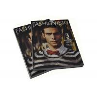 China Monthly A4 Magazine Printing Services Perfect Bound Offset Custom Magazine Printing wholesale