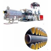 China YL-PE800 Double Wall Corrugated Pipe Extrusion Line wholesale