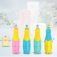 China Flashing Led Baby Oral Children'S Rechargeable Electric Toothbrush SG-513 on sale