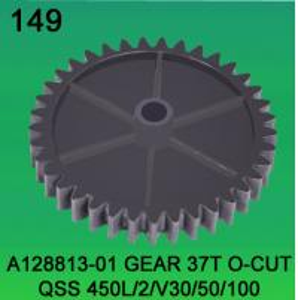 China A128813-01 GEAR TEETH-37 O-CUT FOR NORITSU qsf450L,2,V30,V50,V100 minilab wholesale