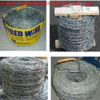 China Twisted Fence Wire, Barbed Tape, Barbed Wire Fence /Hot Dipped Galvanized(250g/m2 zinc) Barbed Wire Mesh Fencing wholesale