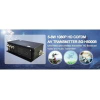 China Military COFDM transmitter 1080i full hd digital video downlink for UAV wholesale